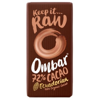 Ombar Raw Chocolate 72 percent  Raw Cacao - 35g