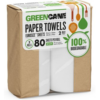 Greencane Bamboo Kitchen Towels - 2 pack