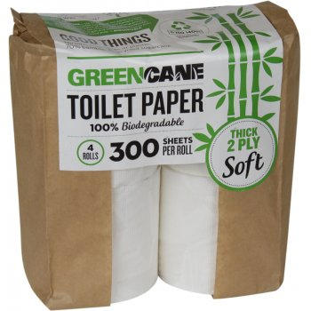 Greencane 2-ply Toilet Paper - 4 pack