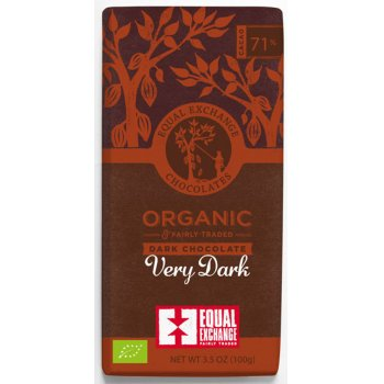 Equal Exchange 71 percent  Organic Very Dark Chocolate - 100g