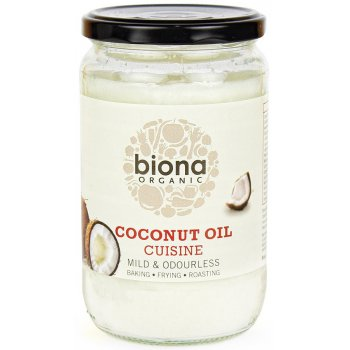 Biona Organic Coconut Oil Cuisine - Mild/Odourless - 610ml