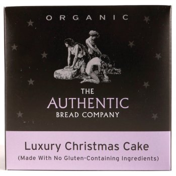 Luxury Free From Gluten Organic Christmas Cake 450g