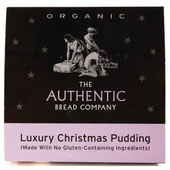 Luxury Gluten Free Organic Christmas Pudding 450g