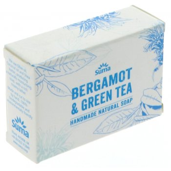 Suma Handmade Natural Soap - Bergamot & Green Tea - 95g
