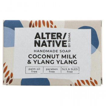Alternative by Suma Handmade Soap - Coconut Milk & Ylang Ylang - 95g