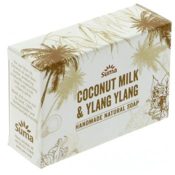 Suma Handmade Natural Soap - Coconut Milk & Ylang Ylang - 95g