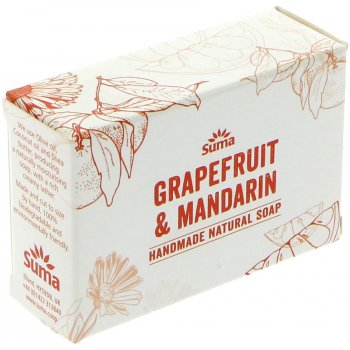 Suma Handmade Natural Soap - Grapefruit & Mandarin - 95g