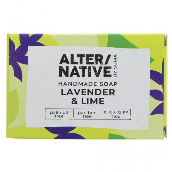 Alternative by Suma Handmade Soap - Lavender & Lime - 95g