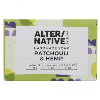 Alternative by Suma Handmade Soap - Patchouli & Hemp - 95g