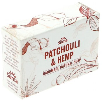 Suma Handmade Natural Soap - Patchouli & Hemp - 95g