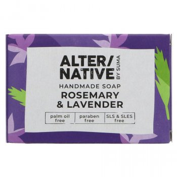 Alternative by Suma Handmade Soap - Rosemary & Lavender - 95g