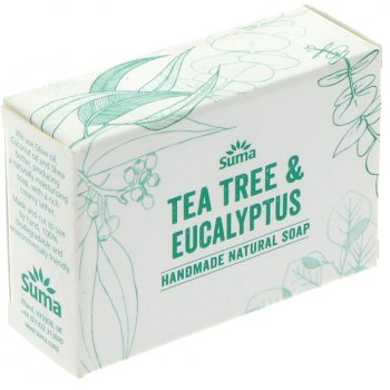 Suma Handmade Natural Soap - Tea Tree & Eucalyptus - 95g