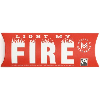 Makers & Merchants Light My Fire Chocolate Bar 60g