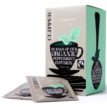 Clipper Organic Peppermint Tea - 25Bags