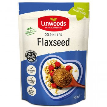 Linwoods Milled Organic Flaxseed - 200g