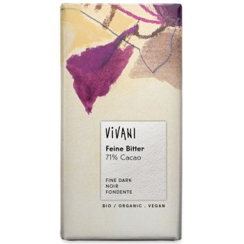 Vivani Organic 71 percent  Dark Chocolate - 100g