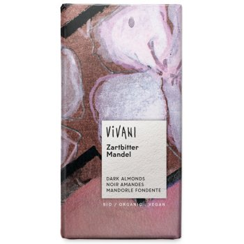 Vivani Organic Dark Chocolate  & Almonds - 100g