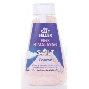 The Salt Seller Pink Himalayan Coarse Salt - 300g