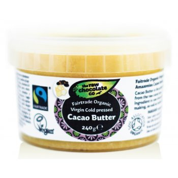 The Raw Chocolate Co Cacao Butter - 240g