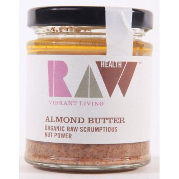 Raw Health Whole Raw Organic Almond Butter - 170g