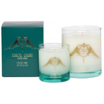 M&J Ethical Luxury Large Scented Candle - Celtic Fire