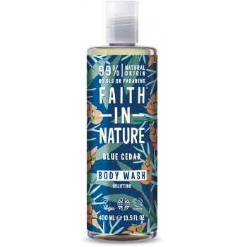 Faith In Nature Mens Blue Cedar Body Wash - 400ml