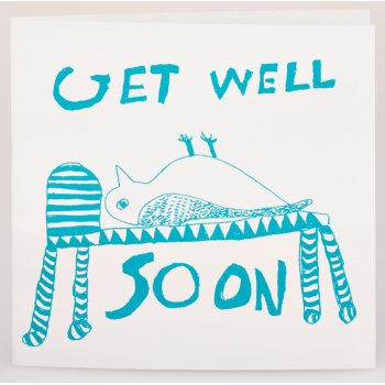 ARTHOUSE Unlimited Charity Get Well Soon Owl Card