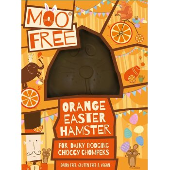 Moo Free Dairy Free Orange Hammy Chocolate Easter Egg - 80g
