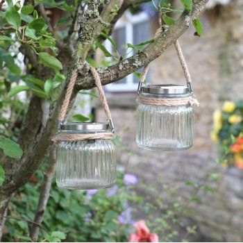 Solar Powered Decorative Cornish Sea Lantern - Pack Of 2