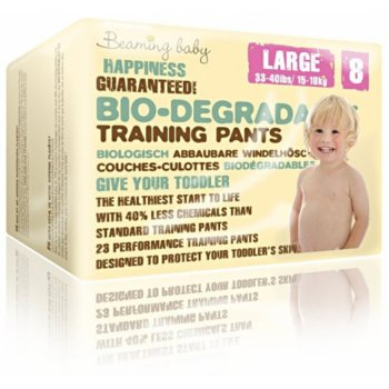 Beaming Baby Biodegradable Training Pants - Large - Pack of 23
