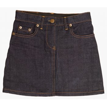 The Fableists Organic Dark Denim Skirt
