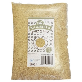 Kilombero Long Grain Aromatic Brown Rice - 3kg