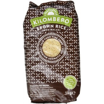Kilombero Long Grain Aromatic Brown Rice - 1kg
