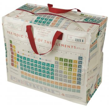 Recycled Jumbo Storage Bag Periodic Table