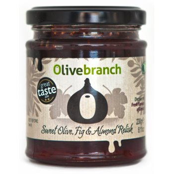 Olive Branch Sweet Olive, Fig & Almond Relish - 230g