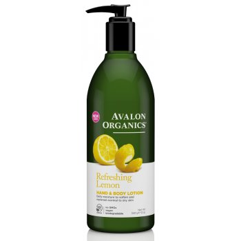 Avalon Organics Hand & Body Lotion - Lemon - 340g