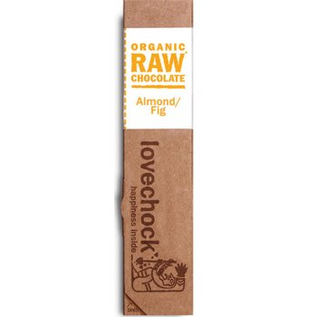 Lovechock Raw Organic Almond Fig Chocolate 40g