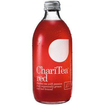 ChariTea Red Iced Rooibos Tea with Passion Fruit - 330ml