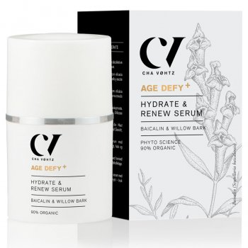 Green People Age Defy  by Cha Vøhtz Hydrate & Renew Serum - 30ml