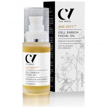 Green People Age Defy  by Cha Vøhtz Cell Enrich Facial Oil - 30ml