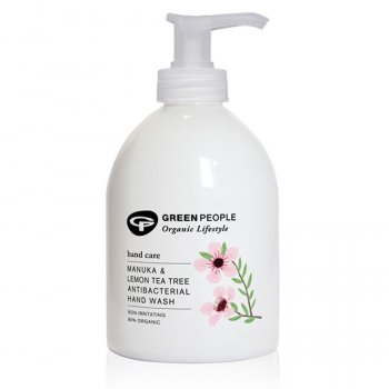 Green People Manuka & Lemon Tea Tree Antibacterial Handwash - 300ml