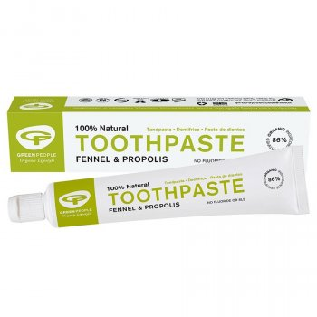 Green People Fennel & Propolis Fluoride Free Toothpaste - 50ml