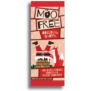 Moo Free Milk Alternative Chocolate Santa - 32g