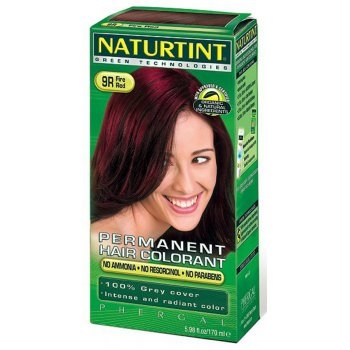 Naturtint 9R Fire Red Permanent Hair Dye - 170ml