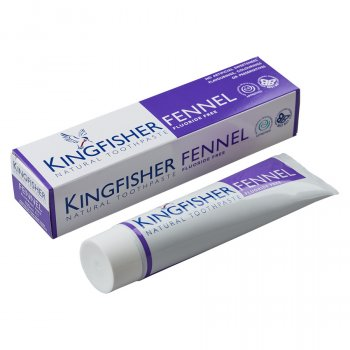 Kingfisher Fluoride Free Toothpaste -  Fennel - 100ml