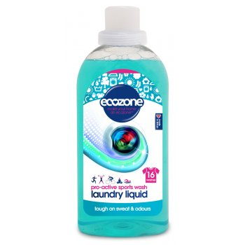 Ecozone Bio Laundry Liquid Pro-Active Sports Wash - 750ml - 16 Washes