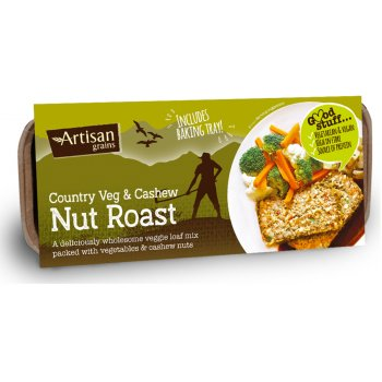 Artisan Grains Nut Roast - Country Veg & Cashew 200g