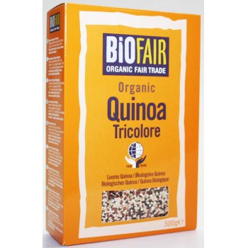 Biofair Organic Tricolore Quinoa Grain - Fair Trade - 500g