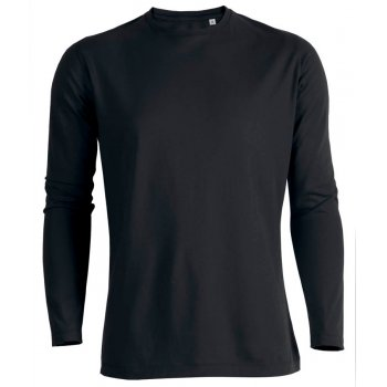 Mens Organic Cotton Round Neck Long Sleeve T-Shirt