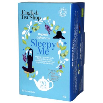 English Tea Shop Organic Sleepy Me Tea - 20 Bags - Sachets